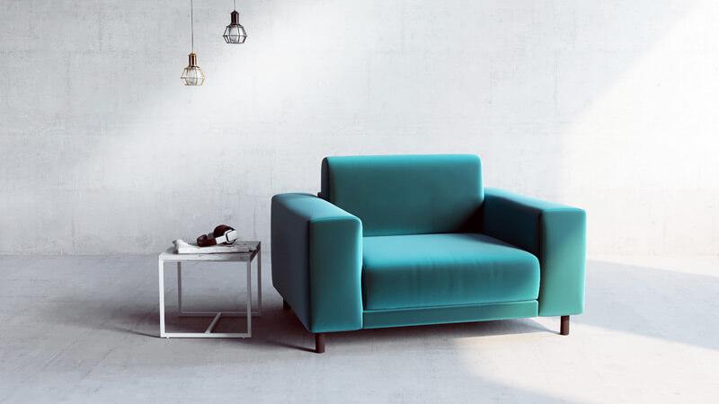 Gestalte deinen individuellen Sessel