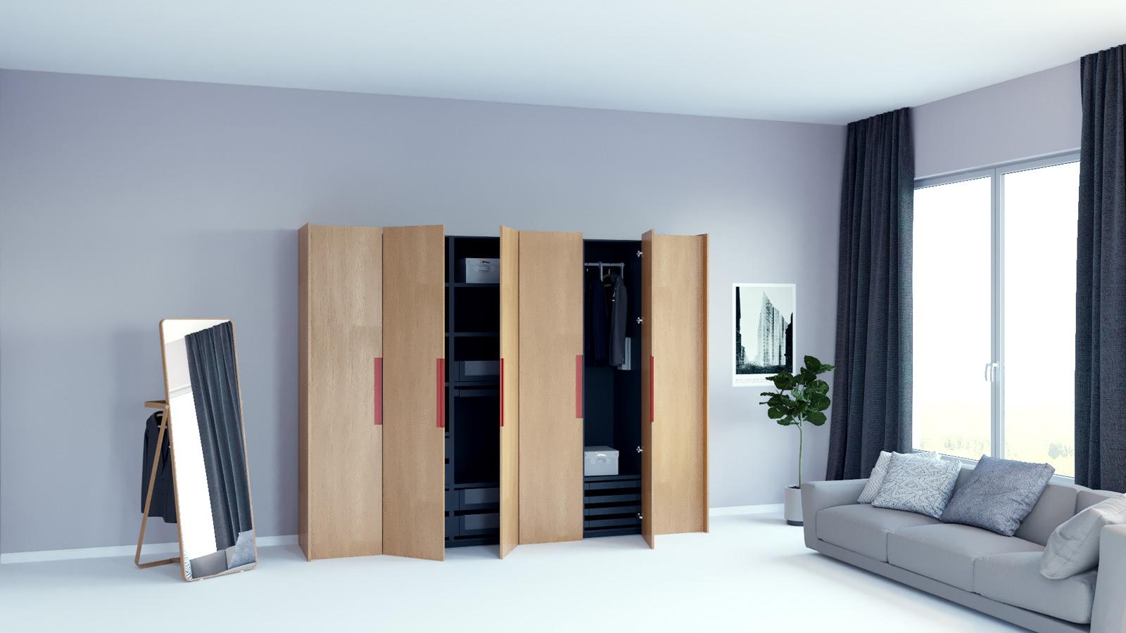 Entzückend Kleiderschrank Platzsparend Das Beste Von Dein Holzkleiderschrank